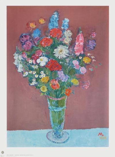 A Bouquet of Summer Flowers-Max Langer-Collectable Print