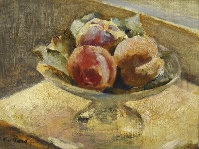 A Bowl of Peaches; Le Compotier De Peches, C.1889-Edouard Vuillard-Giclee Print