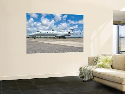 A Brazilian Air Force Embraer E-99 at Recife Air Force Base, Brazil-Stocktrek Images-Wall Mural