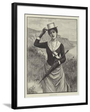 A Breeze Off the Land--Framed Giclee Print