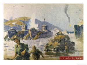 Operation Dragoon the Successful Allied Invasion of Southern France by A. Brenot