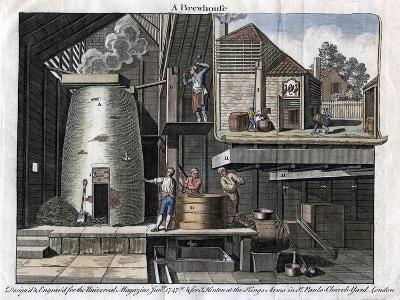 A Brewhouse, 1747--Giclee Print