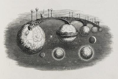 A Bridge Between Planets-Jean Gerard-Giclee Print