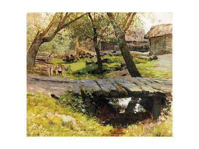 A Bridge in Savvinskaya Sloboda-Isaak Ilyich Levitan-Giclee Print