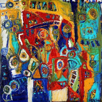 A Bridge of Colour-Martin Kalhoej-Art Print