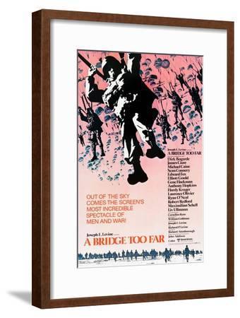 A Bridge Too Far, poster art, 1977