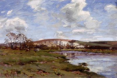 A Bright Day on the Arun-Jose Weiss-Giclee Print