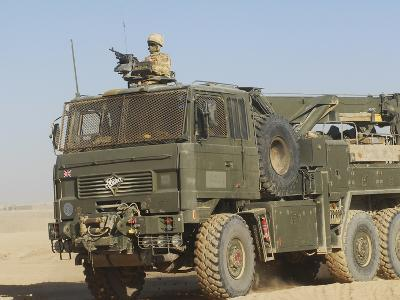 A British Army Foden 6X6 HeaVY Recovery Vehicle-Stocktrek Images-Photographic Print