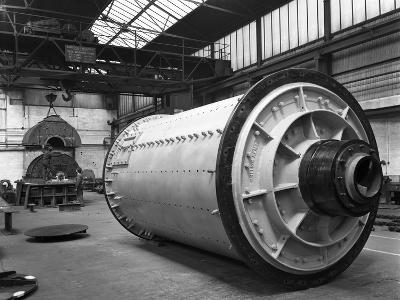 A British Reema Ball Mill Prior to Installation, Sheffield, South Yorkshire, 1963-Michael Walters-Photographic Print