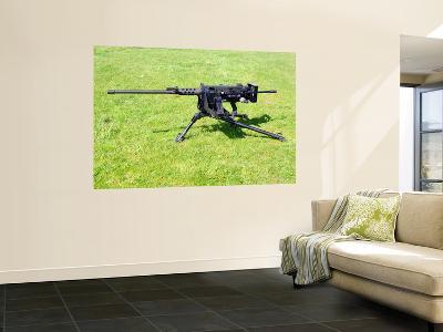 A Browning M2 .50 Caliber HeaVY Machine Gun-Stocktrek Images-Wall Mural