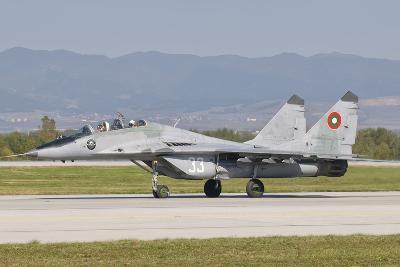 A Bulgarian Air Force Mig-29, Bulgaria-Stocktrek Images-Photographic Print