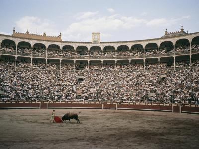 A Bullfight in Madrid-Walter Meayers Edwards-Photographic Print