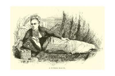 A Burmese Beauty--Giclee Print