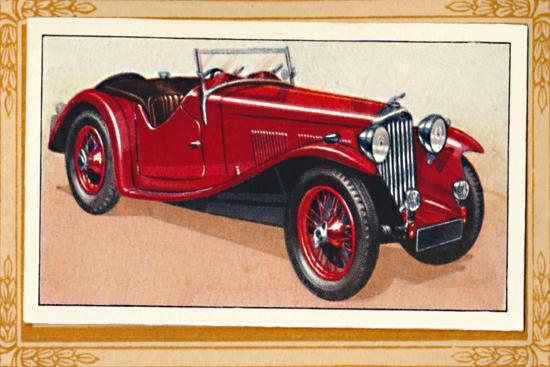 'A.C. Sports Two-Seater', c1936-Unknown-Giclee Print