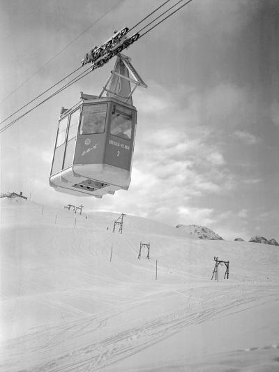 A Cable Railway-Gerhard P. Seinig-Photographic Print