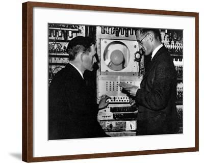 A Calculating Machine--Framed Photographic Print