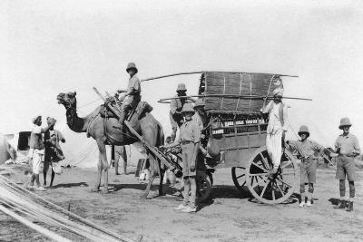 A Camel Cart, India, 1916-1917--Giclee Print