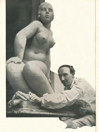 A cameo by Frank Dobson Booth's Has The Magic of Pygmalion-Unknown-Photographic Print