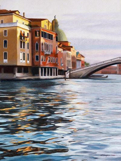 A Canal in Venice-Helen J^ Vaughn-Giclee Print