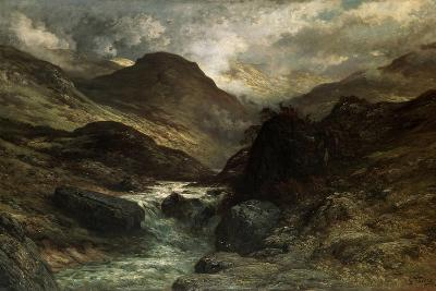 A Canyon, 1878-Gustave Dor?-Giclee Print