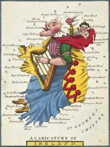 A Caricature of Ireland, 1808