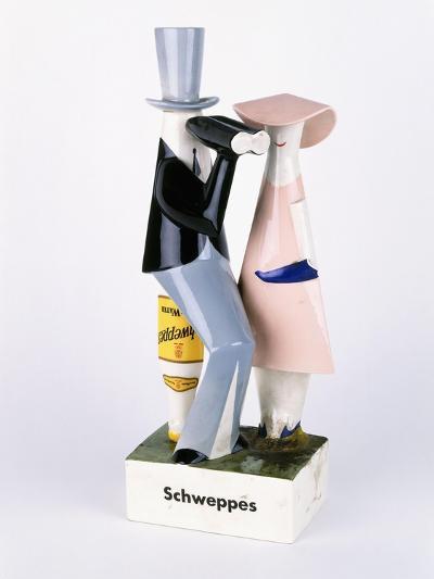 A Carltonware Schweppes Advertising Figure--Giclee Print