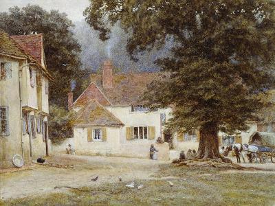 A Cart by a Village Inn, 1878-Helen Allingham-Giclee Print