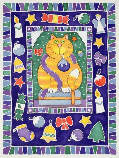 A Cat's Christmas, 1995-Cathy Baxter-Giclee Print