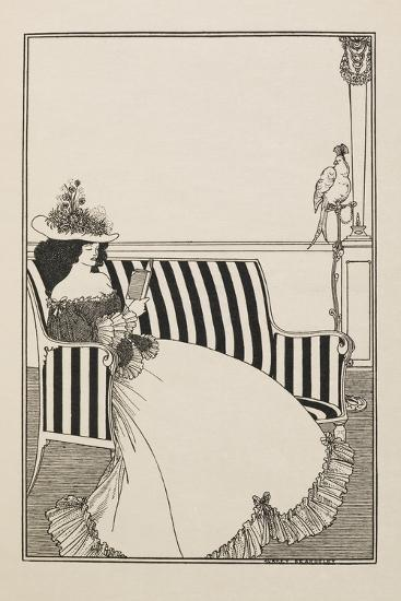 A Catalogue Cover-Aubrey Beardsley-Giclee Print