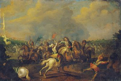 A Cavalry Skirmish-Palamedes Palamedesz-Giclee Print