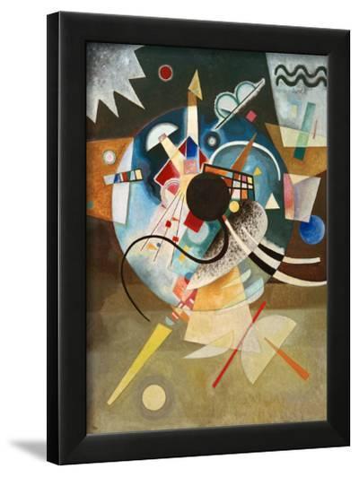 A Centre, 1924-Wassily Kandinsky-Framed Giclee Print