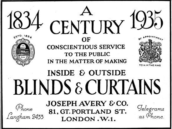 'A Century of Conscientious Service To The Public', 1935-Unknown-Photographic Print