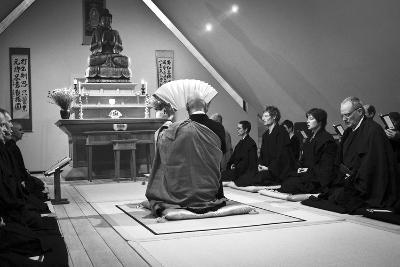 A Ceremony for All Suffering Beings, Zen Monastery Ryumonji, July 2014--Photographic Print
