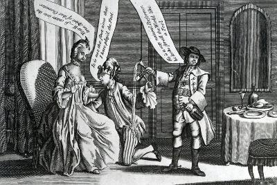 A Certain Personage in the Character of a Fool as He Perform'D it at Whitchurch and Elsewhere, 1770--Giclee Print