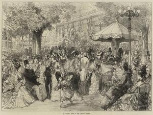 A Charity Fete in the Champs Elysees