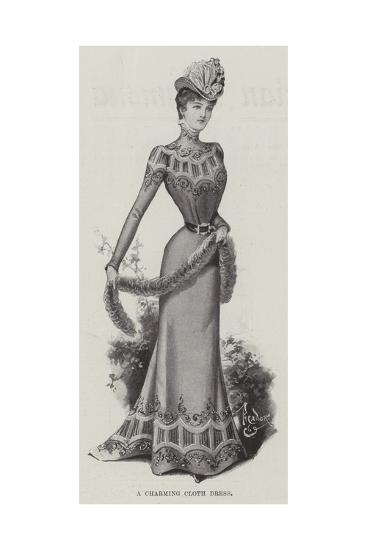 A Charming Cloth Dress--Giclee Print