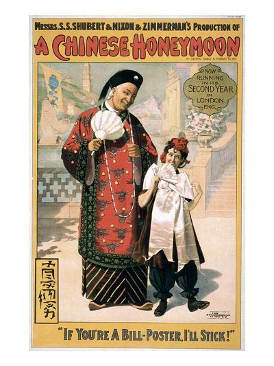A Chinese Honeymoon--Premium Giclee Print