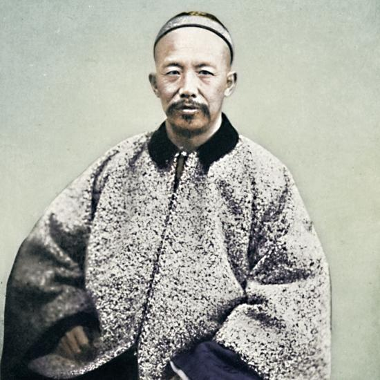 A Chinese official, 1902-Unknown-Photographic Print