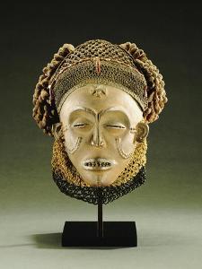 A Chokwe Mask, Mwana Pwo
