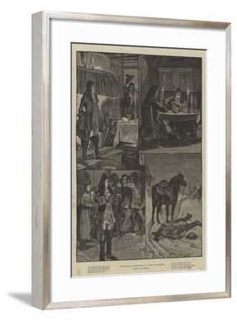 A Christmas Adventure, in Four Tableaux-Richard Caton Woodville II-Framed Giclee Print