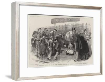 A Christmas Appeal in Aid of the Victoria Hospital for Children, Queen's Road, Chelsea-Robert Barnes-Framed Giclee Print