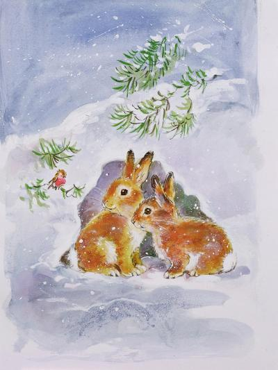 A Christmas Message-Diane Matthes-Giclee Print