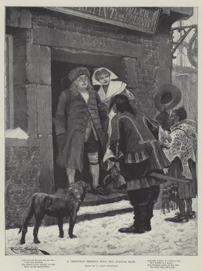 A Christmas Present from the Spanish Main-Richard Caton Woodville II-Giclee Print