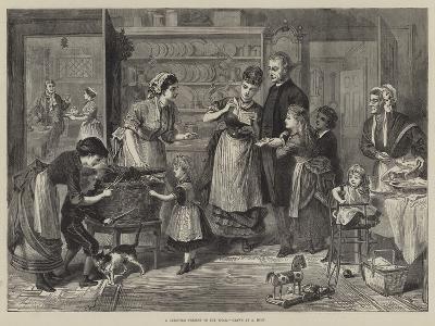 A Christmas Present to the Vicar--Giclee Print