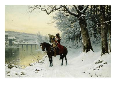 A Christmas Trumpet Call-Robert Assmus-Giclee Print