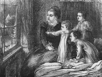 A Christmas Visitor, 1870-Horace WilliamPetherick-Giclee Print