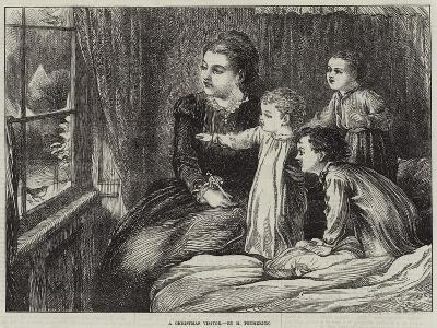 A Christmas Visitor--Giclee Print