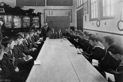 A Class of Seamen at Ammunition Instruction, Whale Island, Portsmouth, Hampshire, 1896- Russell & Sons-Giclee Print