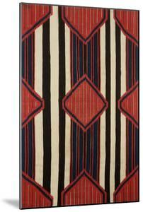 A Classic Navajo Chief's Wearing Blanket, 19th Century