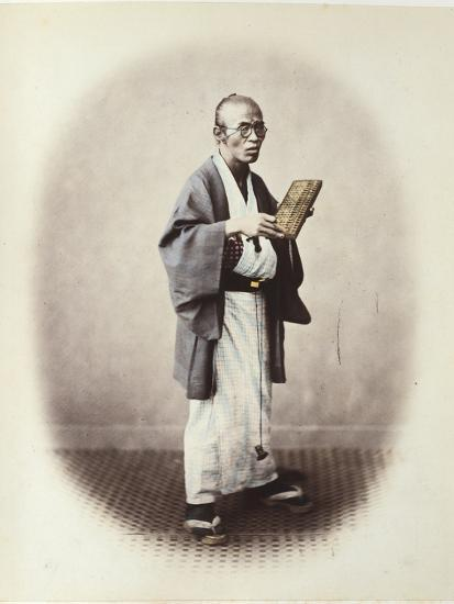A Clerk, C.1868-Felice Beato-Photographic Print